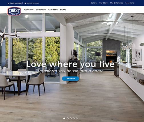 Coast Supply Co launches new website!