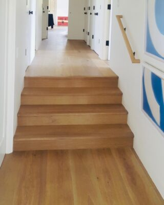 """Pictured here is our European white oak, 9.5"""" wide, long length, hand-selected for clarity. Our owner, Ryan, travels the world looking to source the finest oak materials, and we are proud to carry the greatest and most extensive collection of oak floors under one roof in California. Come by our showroom sometime to browse through the many options available!⠀⠀⠀⠀⠀⠀⠀⠀⠀ ⠀⠀⠀⠀⠀⠀⠀⠀⠀ #flooringinstallation #santabarbarainteriordesign #flooringdesign #flooringcompany #flooringsolutions #flooringinspiration #luxuryflooring #flooringinspo #flooringideas #flooringexperts #floorings #woodflooring #flooringinstall #flooringinstallationsolutions"""
