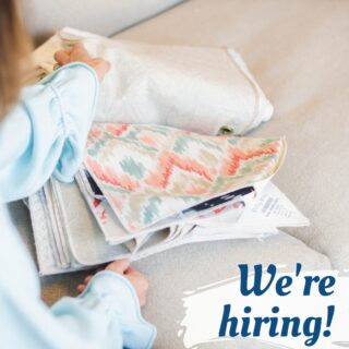 Coast Supply is hiring for our HOME division. Do you have sales and design experience, love textiles and fabrics, and know your way around couches and area rugs? We have a place for you! Fun environment with a great pay. Send an inquiry to info@coastsupplyco.com and tell us about yourself. #nowhiring
