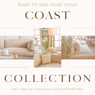 NEW COUCHES IN STOCK NOW!  Stop by one of our locations to pick up your new sofa today!!