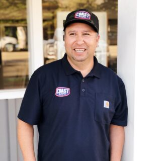 """""""As a perfectionist, I love doing custom work, because of all the details that go into it."""" - Blas, Field Manager. Learn more about Blas in our upcoming Newsletter!   #coastsupplyco#construction#renovation#santabarbara#homeremodel"""