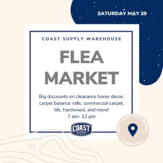 Join us tomorrow morning for our flea market sale! Location is at our warehouse in Ventura: 6250 Inez Street unit #2.  Cash only, first come first served. See you then!☀️